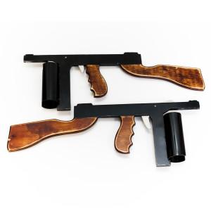 Have a gun fight - Bugsy Malone Splurge Guns!