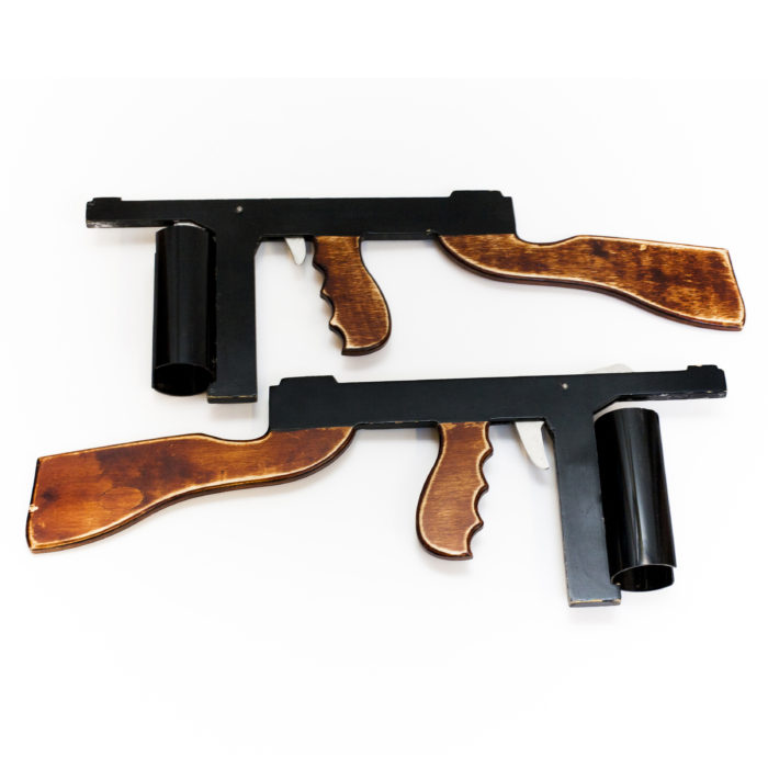 Have a gun fight - Bugsy Malone Splurge Guns!