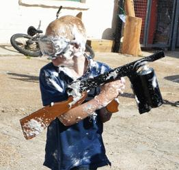 splurge gun fight workshop